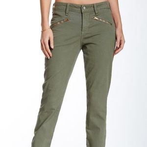 NYDJ | Green Angelina Legging Pants Size 14